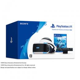 【新品未使用】SONY PlayStation VR PlayStation VR WORLDS同梱版  CUHJ-16006  ホワイト